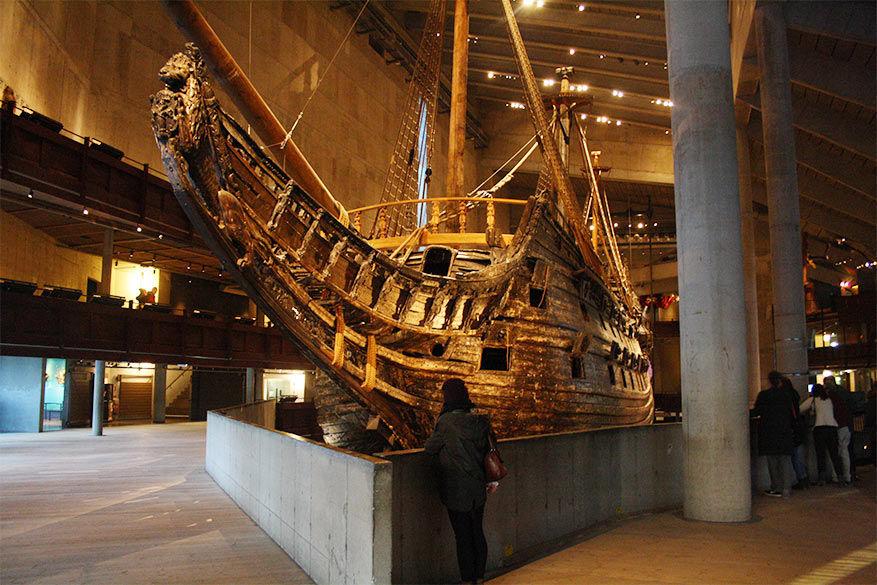 de verdronken magie van Vasa