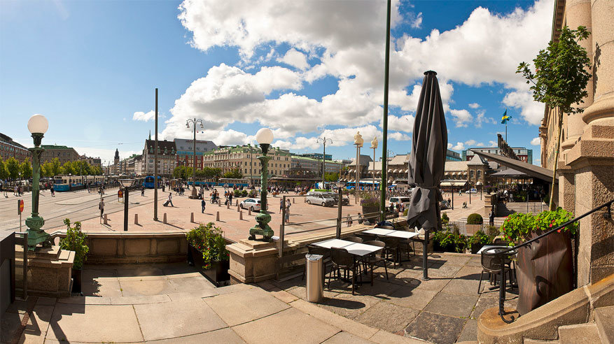 Het plein Drottningtorget. © Göran Höglund (Kartläsarn) via Flickr Creative Commons