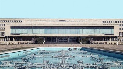 Belgrado uit beton