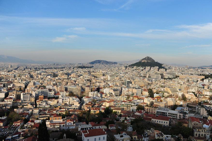 De Lykavittos heuvel levert de spectaculairste uitzichten op. © Pixabay