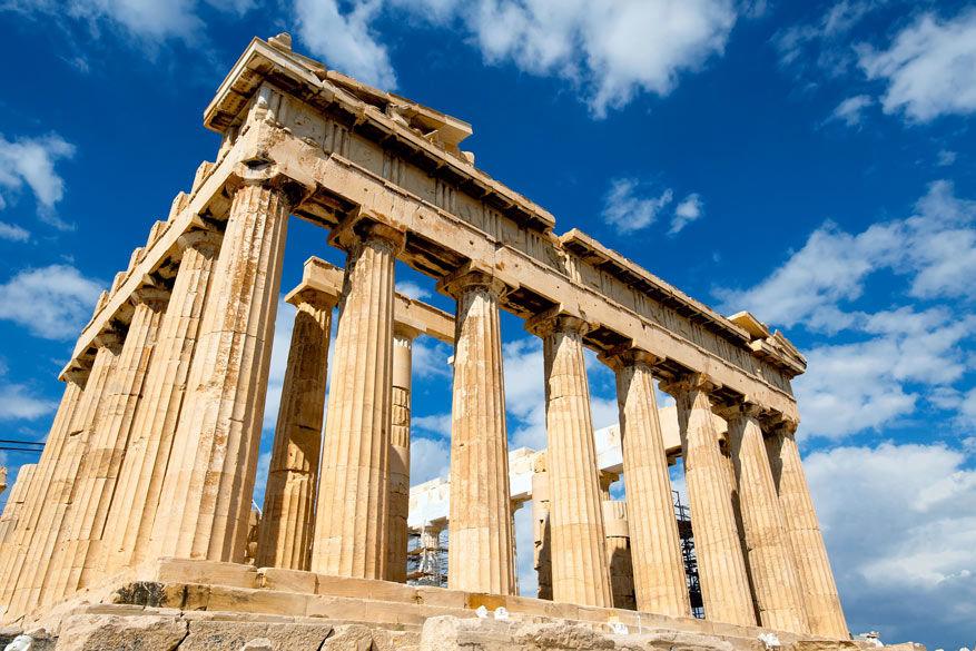 Het iconische Parthenon in Athene. © Pixabay