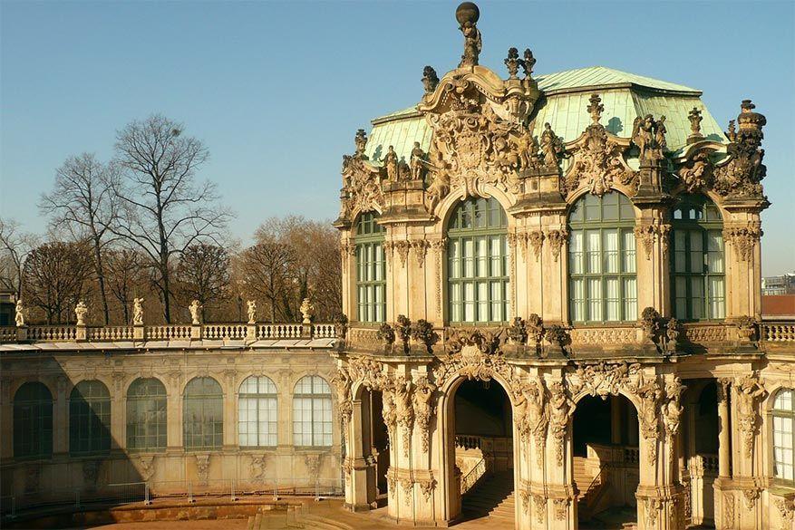Het hoogtepunt van barok in het Zwinger