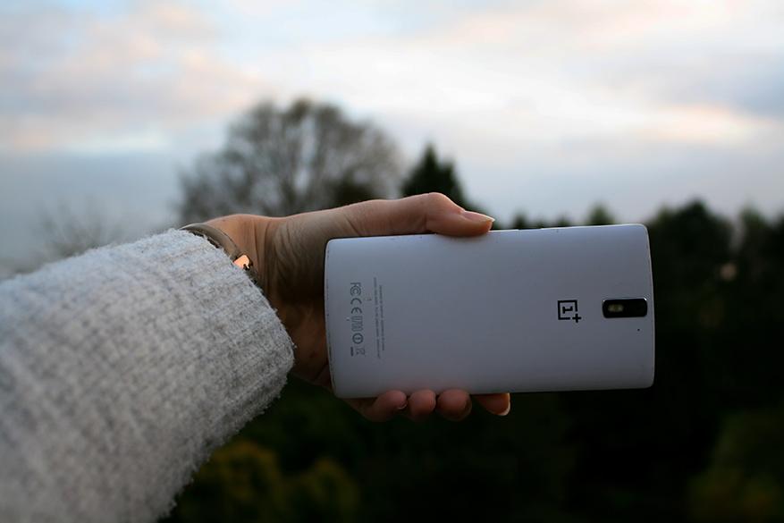 Gebruik je gewone camera voor selfies.