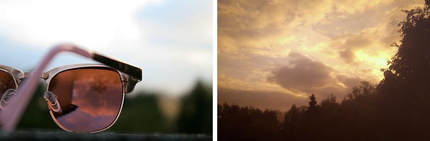 Je foto krijgt meteen een zomers effect.