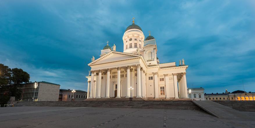 De Domkerk van Helsinki. © Pixabay