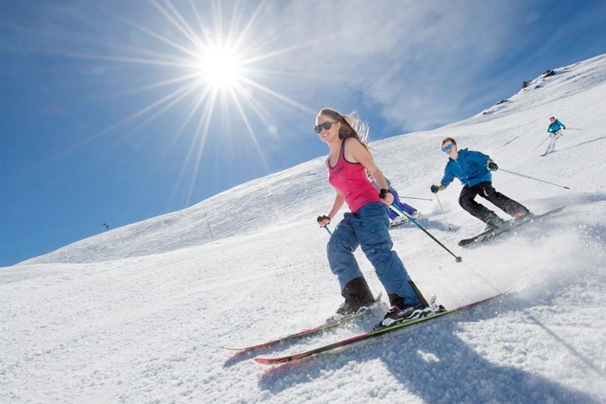 Geniet van 'hero snow' tijdens het lenteskiën! © Pascal Lebeau
