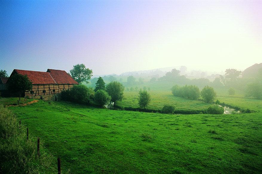 Het betoverende landschap in Limburg brengt je helemaal tot rust. © Pixabay