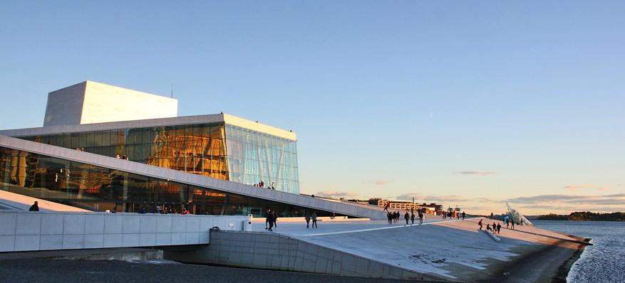 Het operagebouw van Oslo: een architecturaal pareltje.