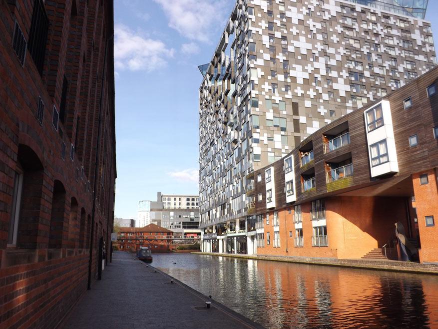 De 60 km kanalen in Birmingham typeren de stad. © Pixabay