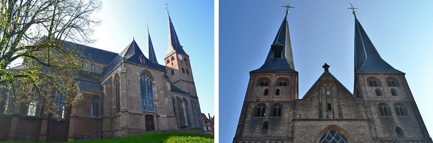 De impressionante bergkerk doet nu dienst als expositieruimte.
