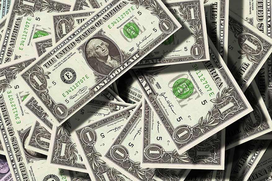 Amerikanen delen steeds rijkelijk fooien uit. © Pixabay