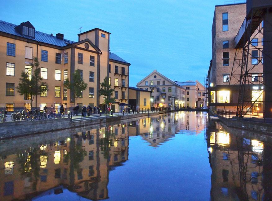 Norrköping combineert gezelligheid met authenticiteit. © Norrköpings stadsbibliothek via Flickr Creative Commons