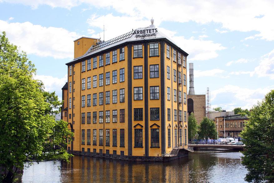 Industrie kenmerkt de Zweedse stad Norrköping. © Uif Liljankoski via Flickr Creative Commons