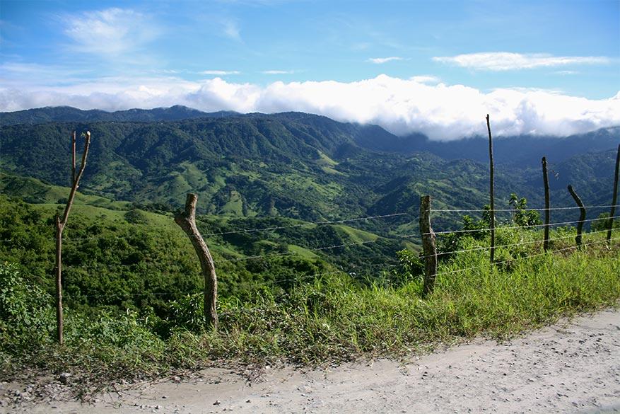 De weg terug van Monteverde verliep vlotter dan erheen.