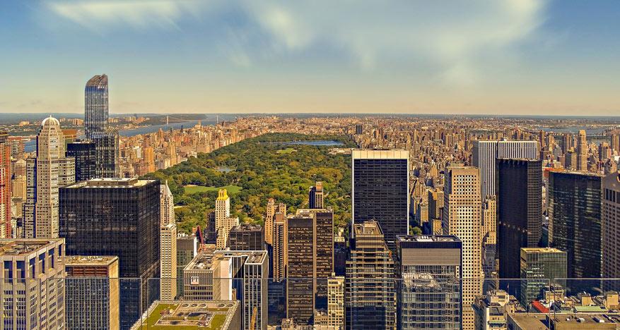 Kom helemaal op adem in het enorme Central Park.