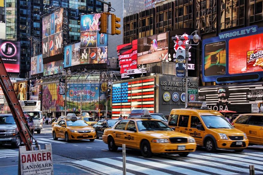Laat dure taxi's voor wat ze zijn en neem het openbaar vervoer in New York.