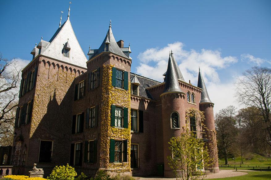 De authenticiteit druipt van het Keukenhof kasteel af.