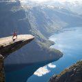 De Trolltunga rots in Noorwegen is niet zo verlaten als je hoopt.