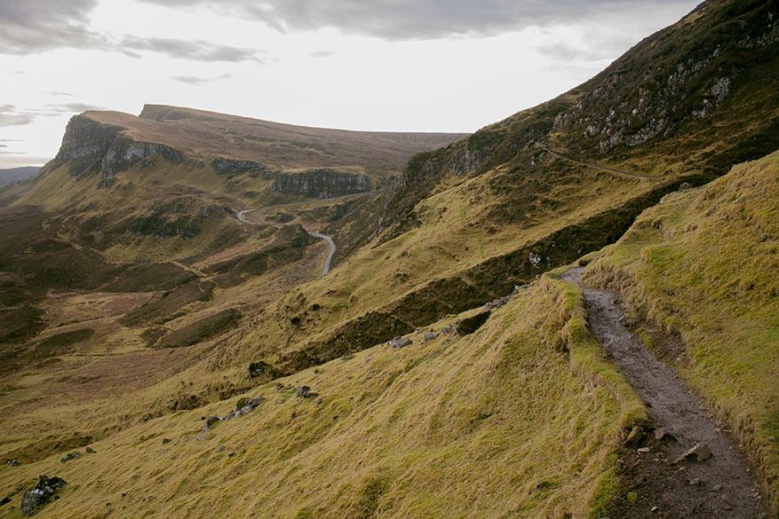 In het laagseizoen heb je de Highlands bijna helemaal voor jezelf.