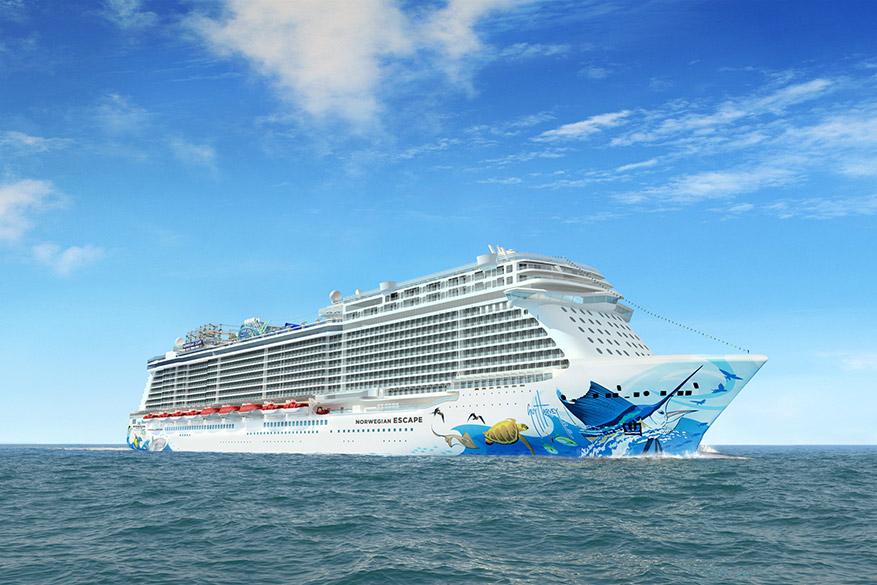 Het Noorse cruiseschip biedt een extra, ietwat koude, spa behandeling. © Pixabay