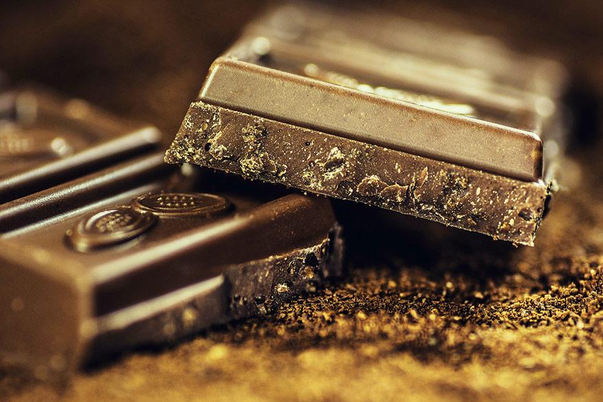 Warme, gesmolten chocolade is volgens verschillende masseurs de bron van geluk. ©