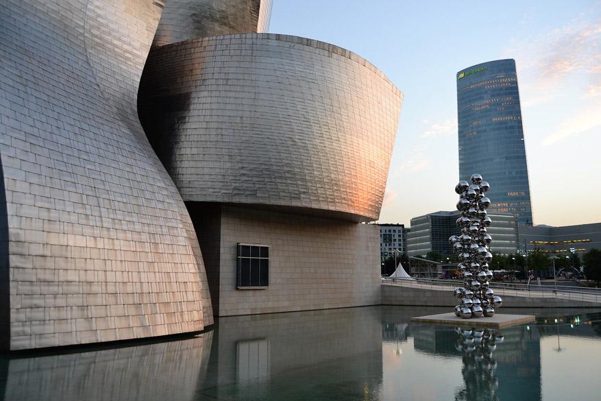 Niet gratis, maar wel een must-do: het Guggenheim Museum Bilbao. © Pixabay