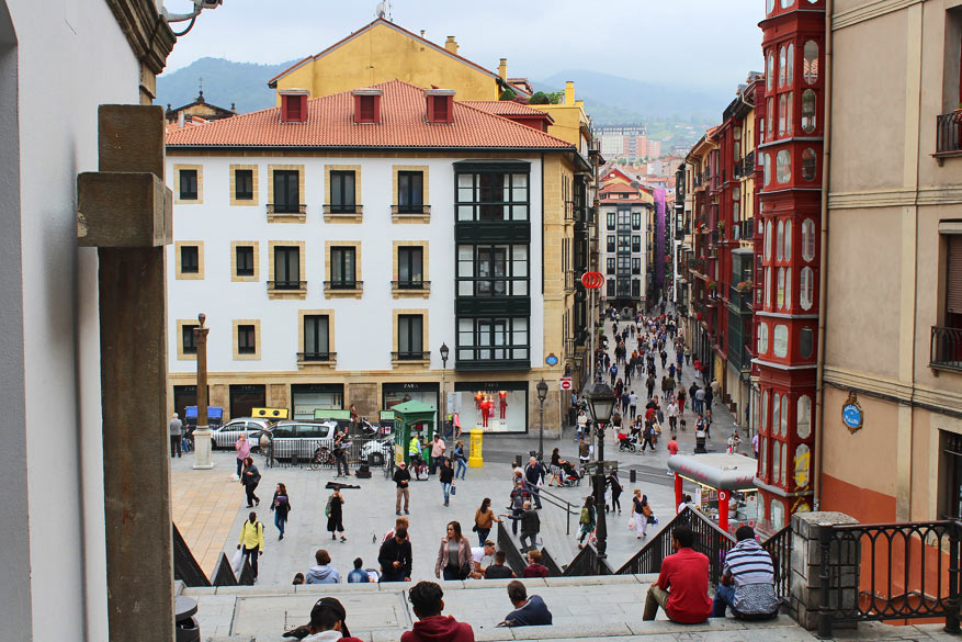 In Casco Viejo, het oude Bilbao, wandel je langs historische architectuur. © Pixabay