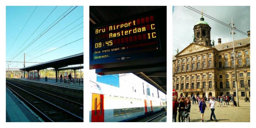 Snel en budgettair naar Amsterdam met de trein