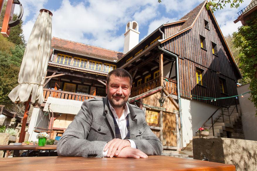 Stichter van Schmilka en ondernemer Sven-Erik Hitzer.