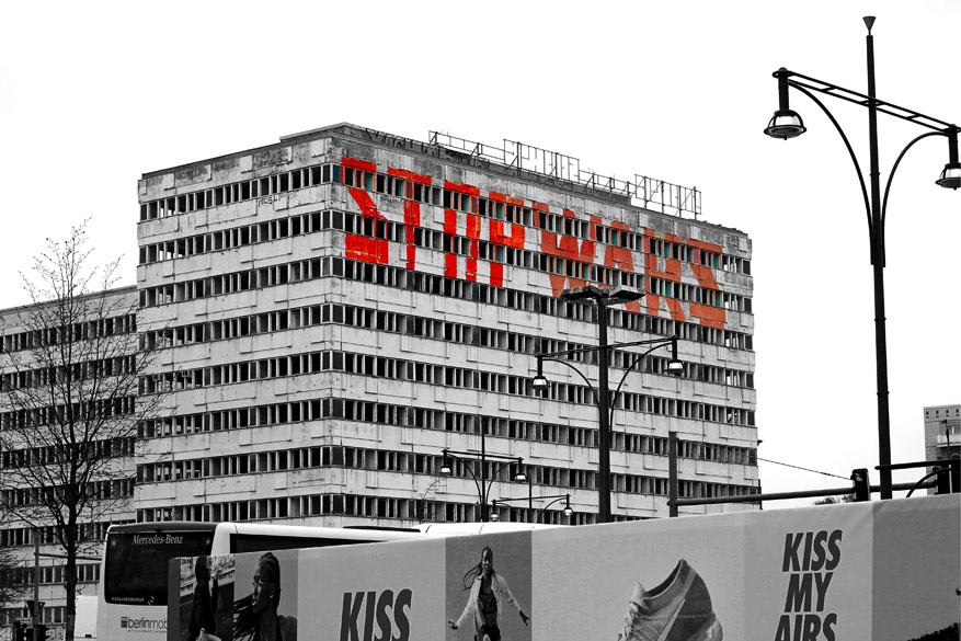 Berlijn stop wars