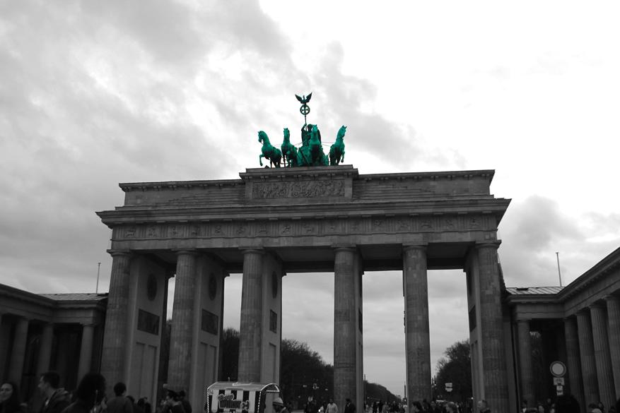 Kleuraccenten in Berlijn