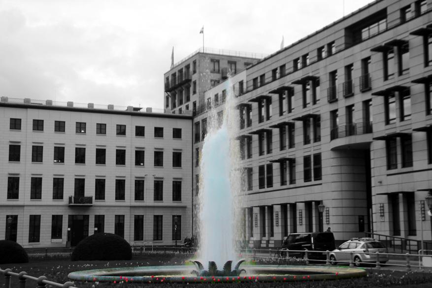 Berlijn Fontein Brandenburg torn