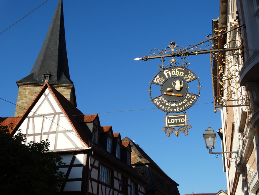 In wijndorp Freinsheim is de tijd nog een beetje blijven stilstaan. © Marc Kenis