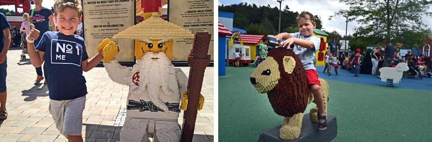 Legoland staat garant voor een plezierig uitje voor jong en oud.