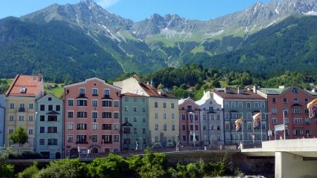In vogelvlucht langs de toppers van Innsbruck