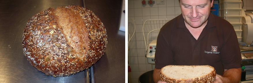 Heerlijk speltbrood van Den Dungense Molen.