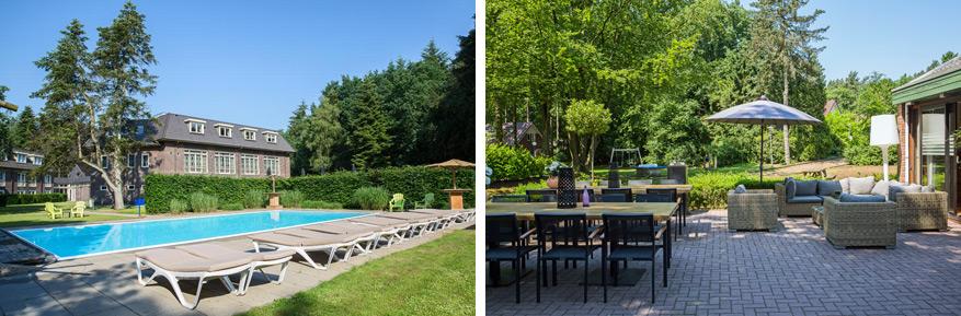 Hotel WestCord beschikt over een ruim terras, grand café en een buitenzwembad.