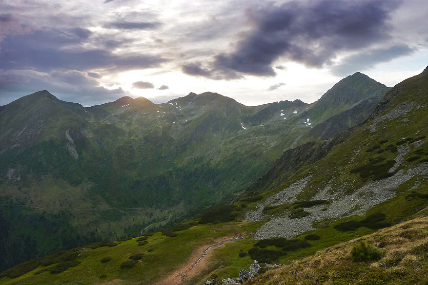 Een stevige klim wordt beloond met een uitzonderlijk uitzicht op al het moois dat Schladming-Dachstein te geven heeft. Heerlijk!