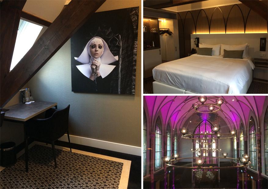 In Hotel Nassau slaap en ontbijt je onder de uit 18de-eeuwse kerkgewelven.