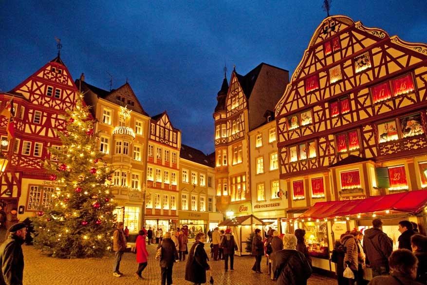 Tip: de twee kerstmarkten van de Midden-Moezel in Duitsland