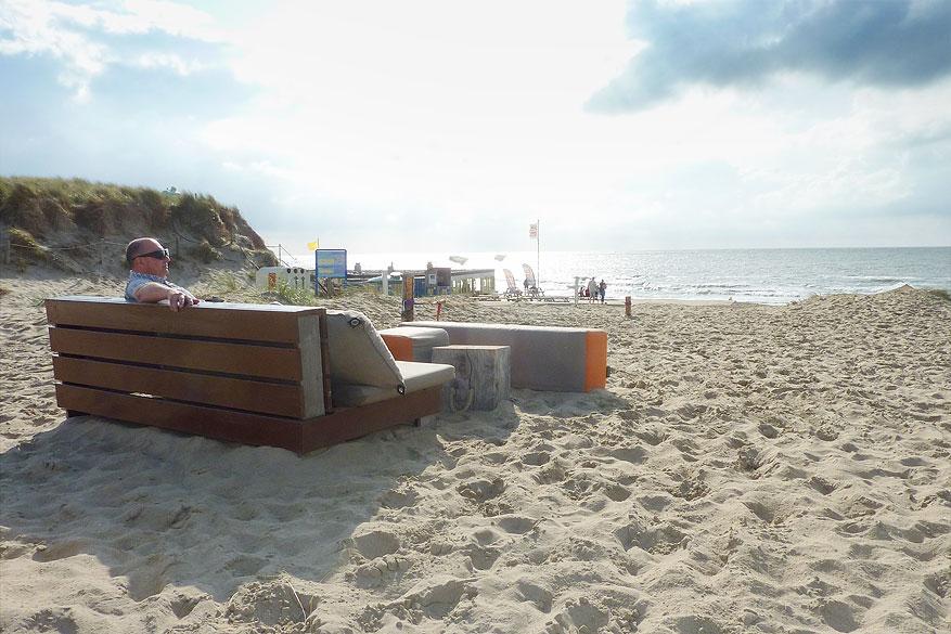 Texel strandpavilkoen paal 9