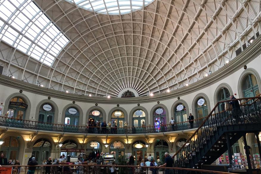 Leeds Corn Exange, een van de vele gigantische winkelcentra.