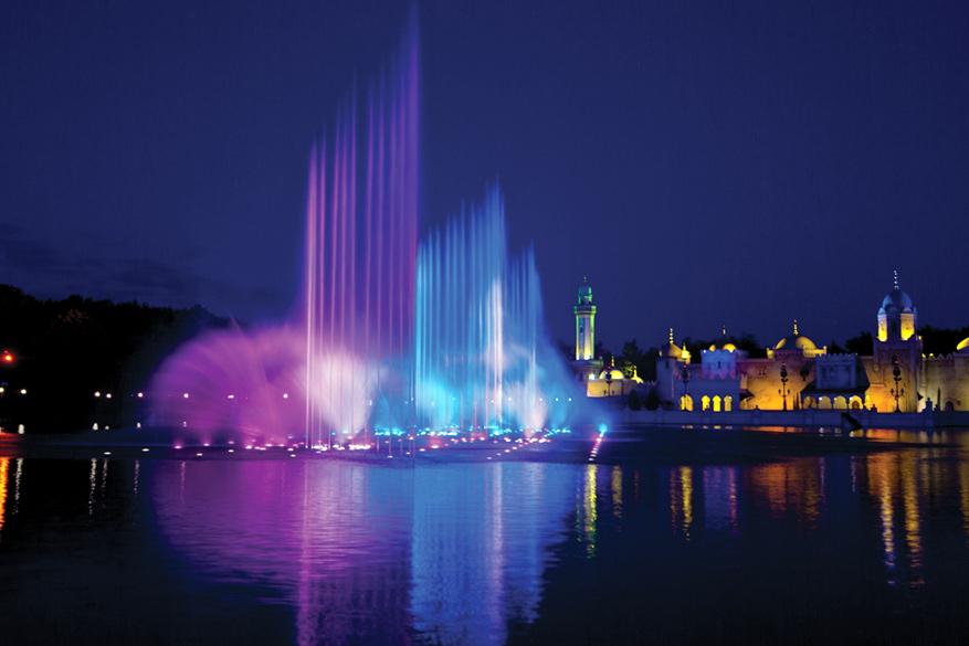 Aquanura: de nieuwe magische watershow in de Efteling.