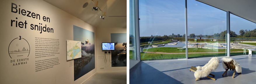 Meer informatie over het ontstaan van de Biesbosch vind je in het museum in Werkendam.