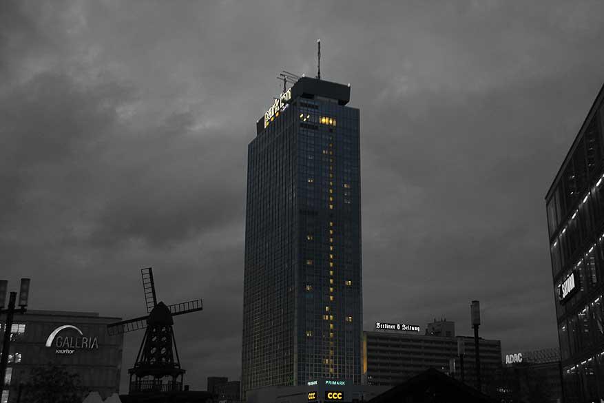 Berlijn alexanderplatz-Park-Inn-Hotel