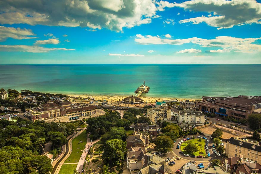 Bournemouth is een van de meest vooraanstaande plekken aan de Britse Zuidkust om Engels te leren.
