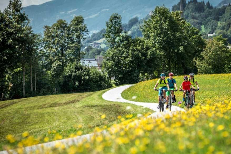 Tauernradweg: fietsvakantie in nationaal park Hohe Tauern