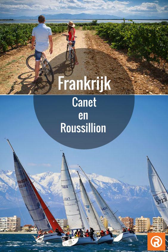 Vakantie in Canet en Roussillion Frankrijk