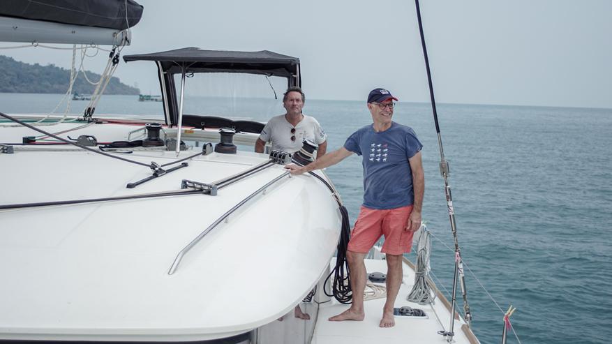 Thailand catamaran