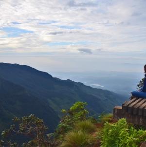 Horton Plains in Sri Lanka: wandelen naar het einde van de wereld